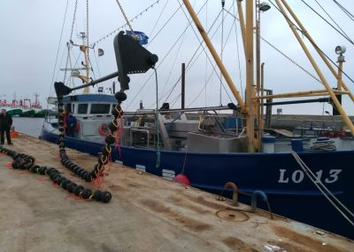 klossenpees klos pees visserij garnalen harlingen lauwersoog kotters vissen