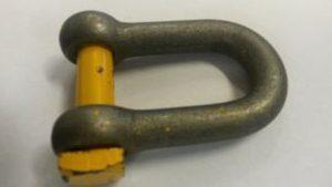 Yellowpin sluiting harp d
